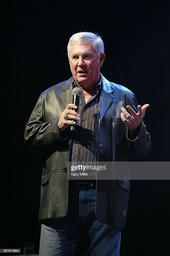 Mack Brown attends the 4th annual Mack, Jack & McConaughey charity event at ACL Live on April 15, 2016 in Austin, Texas.