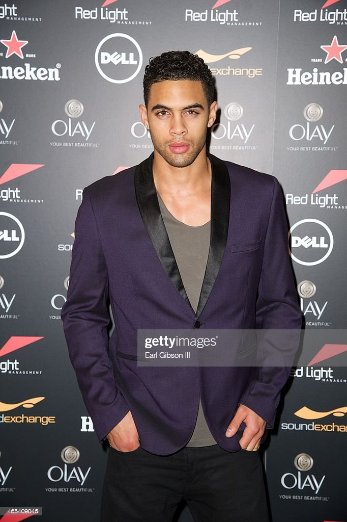 Mack Cook attends The Grammy Awards Red Light Management After Party at Sky Bar, Mondrian Hotel on January 26, 2014 in West Hollywood, California.