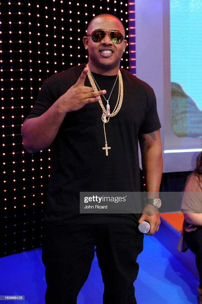 Mack Maine visits BET's '106 & Park' at BET Studios on March 18, 2013 in New York City.