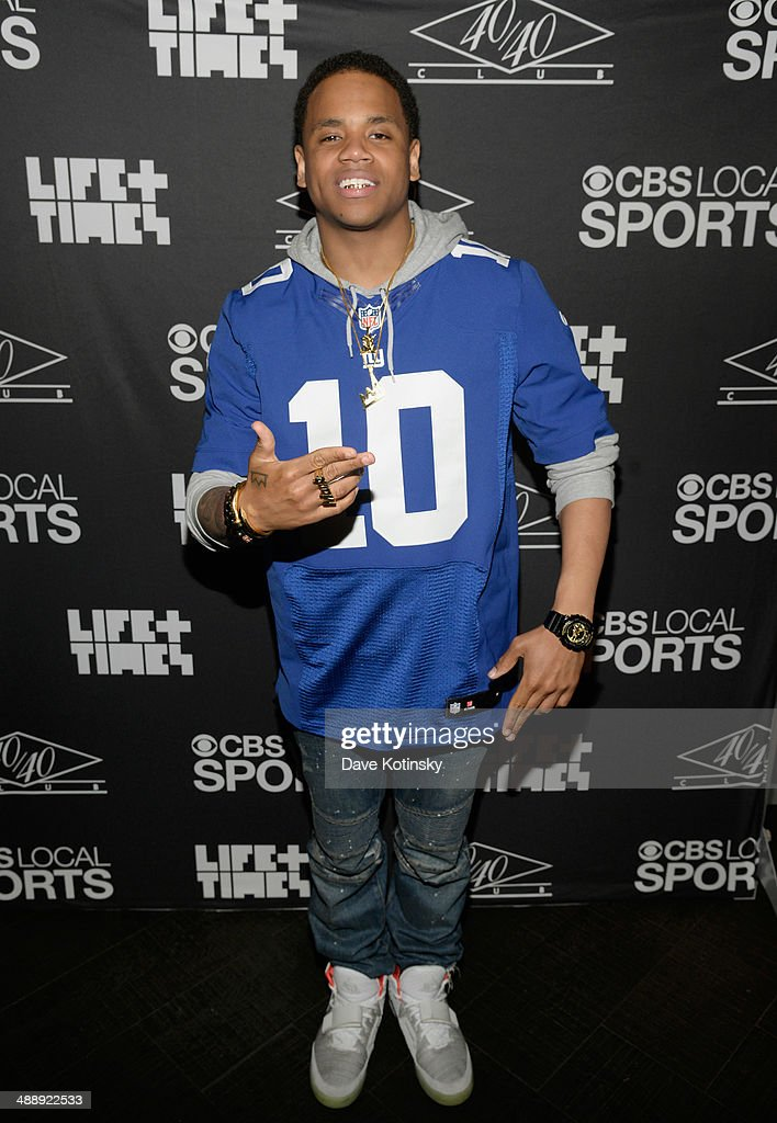 Mack Wilds attends CBS Local Sports' Draft Party on May 8, 2014 in New York City.