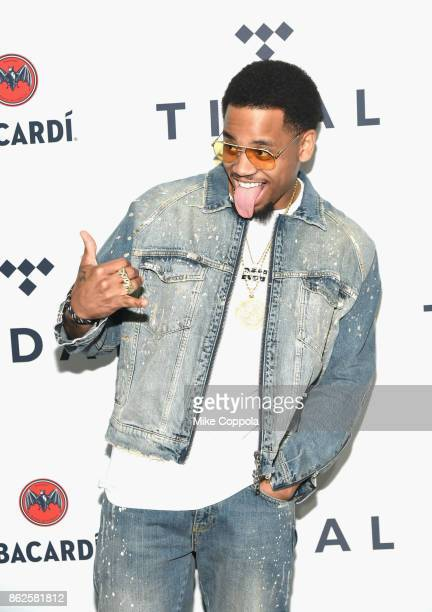 Mack Wilds attends TIDAL X Brooklyn at Barclays Center of Brooklyn on October 17 2017 in New York City