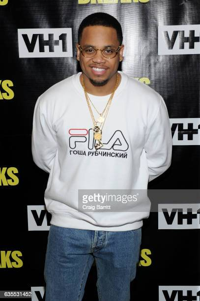 Mack Wilds attends VH1s 'The Breaks' series premiere event at The Roxy Hotel on February 15 2017 in New York City
