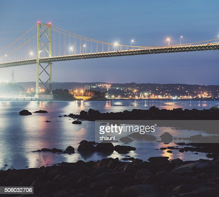 MacKay Bridge Twilight