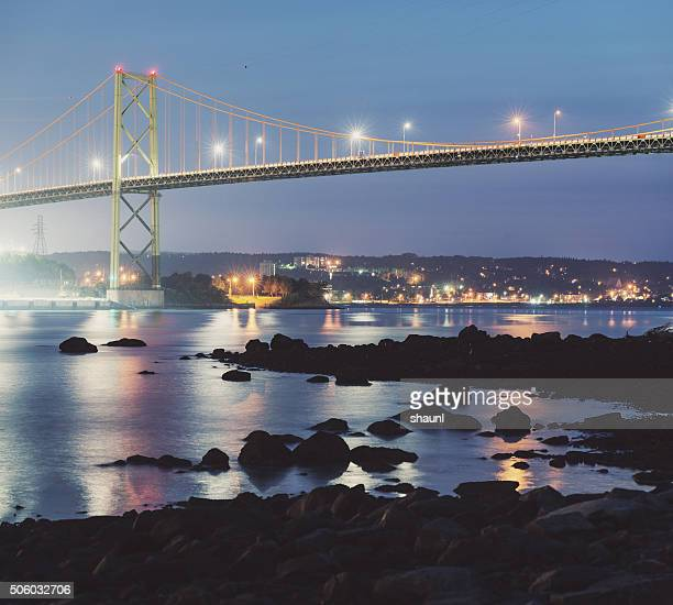 MacKay Bridge Twilight