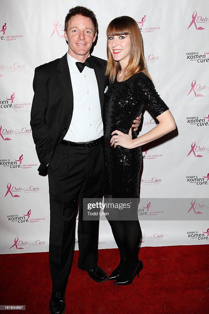 MacKenzie Astin and Jennifer Astin pose at the Date for the Cure To Benefit Susan G. Komen For The Cure on February 16, 2013 in Universal City, California.