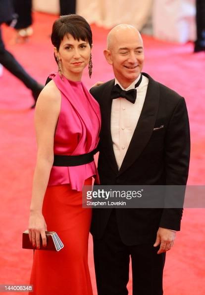 Mackenzie Bezos and Jeff Bezos...