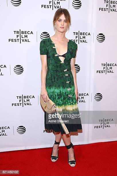 Mackenzie Davis attends 'Always Shine' Premiere 2016 Tribeca Film Festival at Chelsea Bow Tie Cinemas on April 15 2016 in New York City