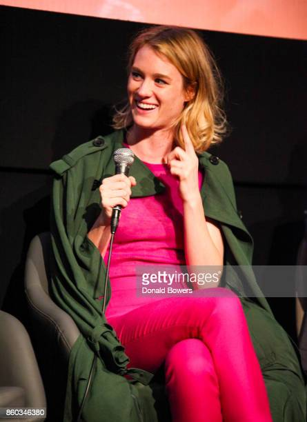 Mackenzie Davis attends The 'Halt And Catch Fire' Screening And Panel at IFC Center on October 11 2017 in New York City