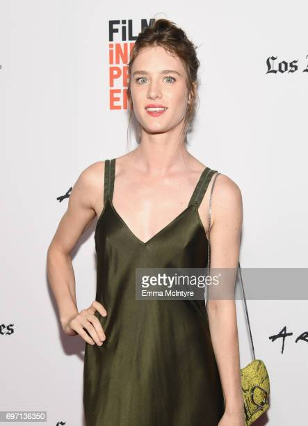 Mackenzie Davis attends the 'Izzy Gets The Fuck Across Town' and 'Ok Call Me Back' Premieres during the 2017 Los Angeles Film Festival at Arclight...