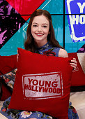 Mackenzie Foy Visits Young Hollywood Studio