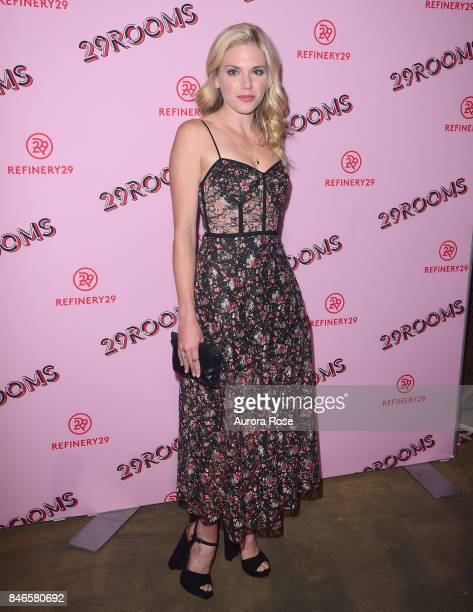 MacKenzie Mauzy attends Refinery29's '29Rooms Turn It Into Art' at 106 Wythe Ave on September 7 2017 in New York City