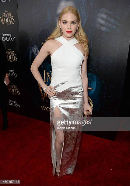 MacKenzie Mauzy attends the world premiere of 'Into the Woods' at the Ziegfeld Theatre on December 8 2014 in New York City The stars came out for the...