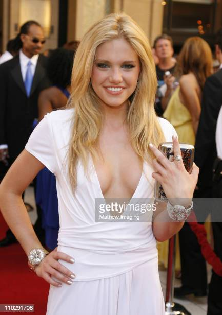 Mackenzie Mauzy during 34th Annual Daytime Emmy Awards Red Carpet at Kodak Theatre in Hollywood California United States