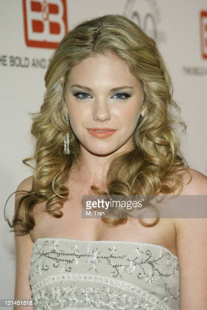 MacKenzie Mauzy during 'The Bold and the Beautiful' Gala to Celebrate 20 Years at Two Rodeo in Beverly Hills California United States