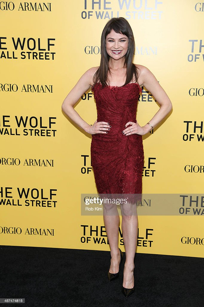 MacKenzie Meehan attends the 'The Wolf Of Wall Street' premiere at Ziegfeld Theater on December 17, 2013 in New York City.