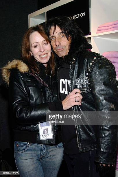 Mackenzie Phillips and Alice Cooper at Fred Segal during 2005 Park City Fred Segal Boutique at Village at the Lift at Village at the Lift in Park...