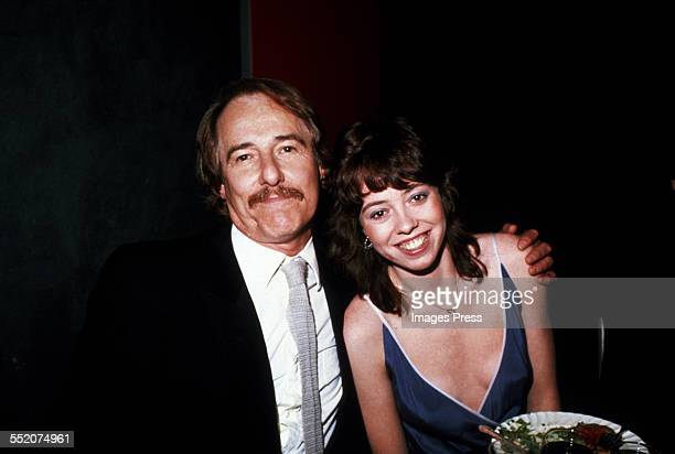 Mackenzie Phillips and father John Phillips circa 1981 in New York City