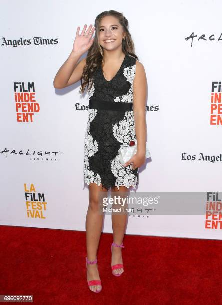 Mackenzie Ziegler arrives at the 2017 Los Angeles Film Festival opening night premiere of Focus Features' 'The Book Of Henry' held at Arclight...