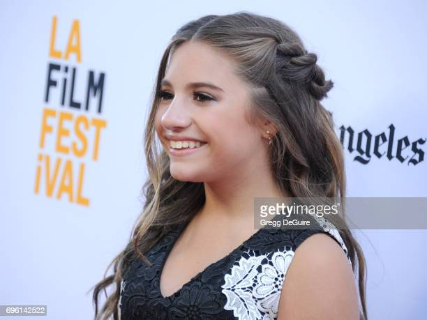 Mackenzie Ziegler arrives at the 2017 Los Angeles Film Festival Opening Night Premiere Of Focus Features' 'The Book Of Henry' at Arclight Cinemas...