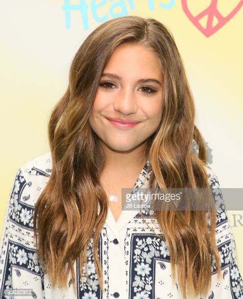 Mackenzie Ziegler attends the Children Mending Hearts 9th Annual Empathy Rocks Fundraiser on June 11 2017 in Beverly Hills California
