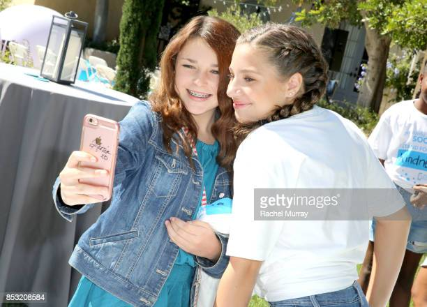 Mackenzie Ziegler attends the Positively Social launch event on September 24 2017 in Beverly Hills California