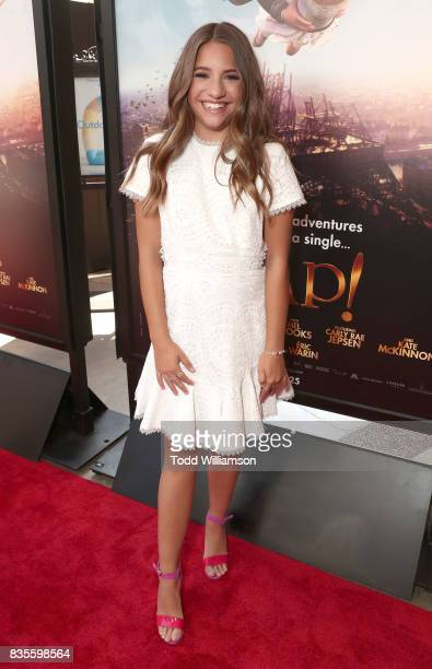 Mackenzie Ziegler attends the premiere Of The Weinstein Company's 'Leap' at Pacific Theatres at The Grove on August 19 2017 in Los Angeles California