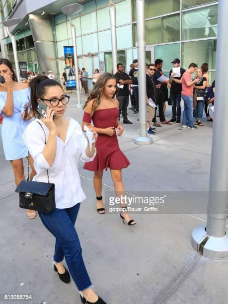Mackenzie Ziegler is seen on July 11 2017 in Los Angeles California