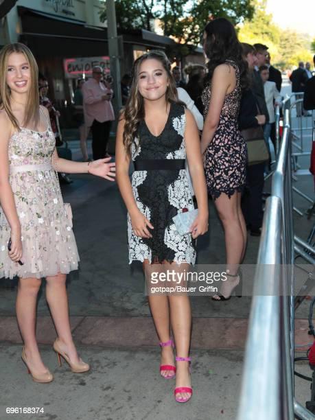 Mackenzie Ziegler is seen on June 14 2017 in Los Angeles California