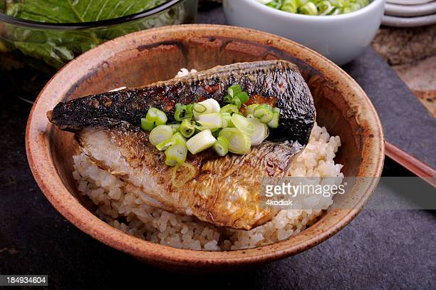 Mackerel Over Rice
