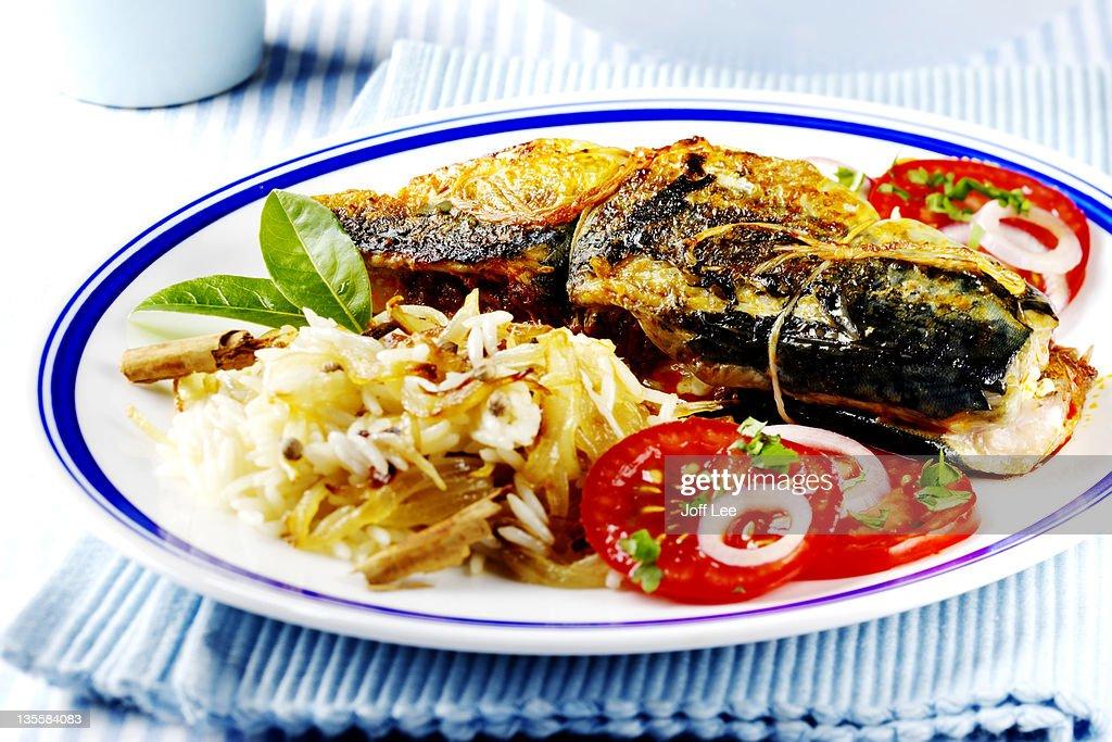 Mackerel Recheado : Stock Photo