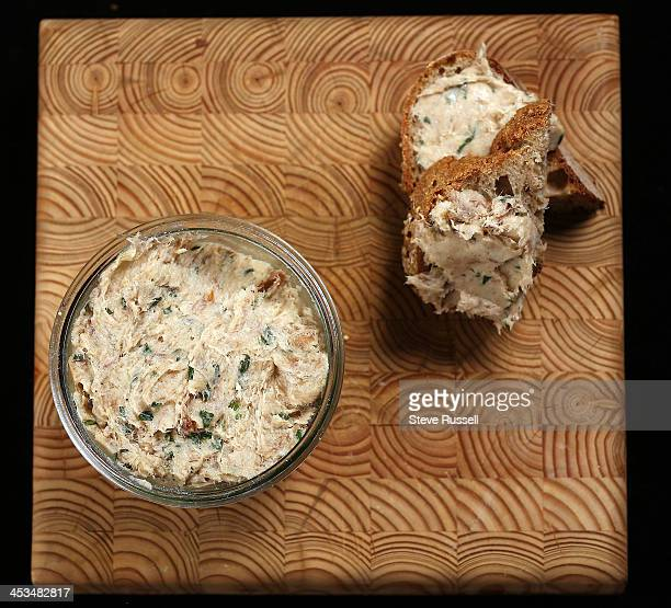Mackerel Rillettes a Christmas appetizer Toronto December 3 2013