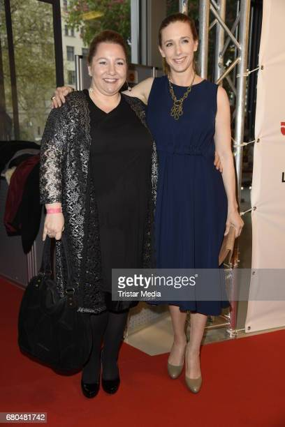Mackie Heilmann and Kristin Meyer attend the Victress Awards Gala 2017 on May 8 2017 in Berlin Germany