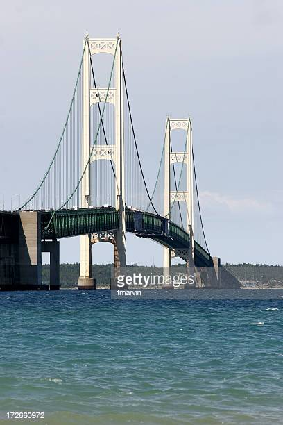 Mackinac Bridge from the south