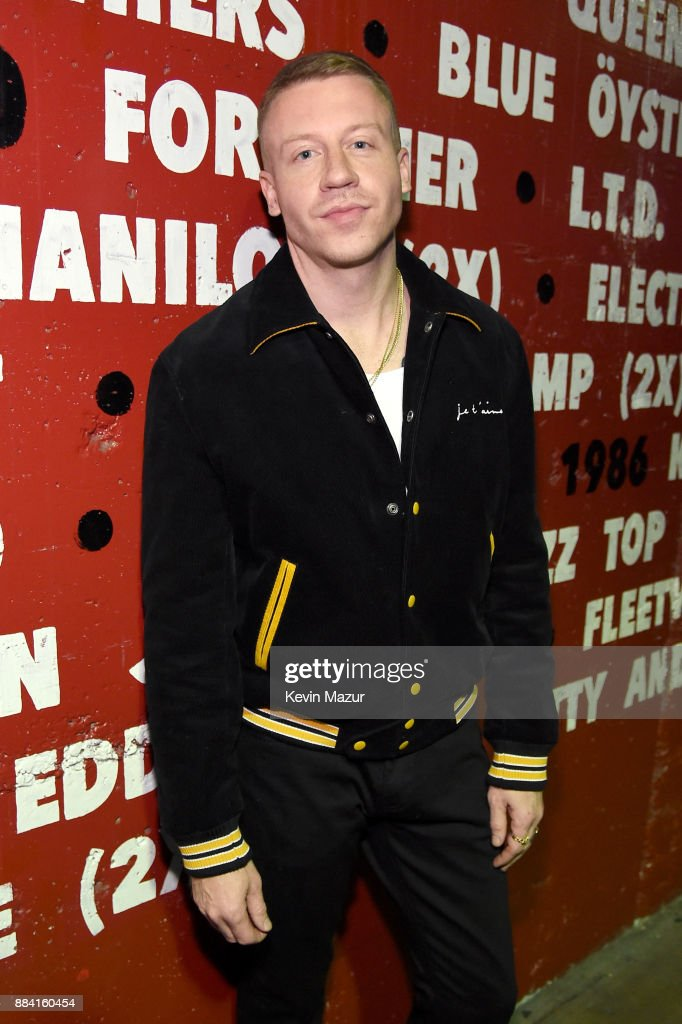Macklemore attends 102.7 KIIS FM's Jingle Ball 2017 presented by Capital One at The Forum on December 1, 2017 in Inglewood, California.
