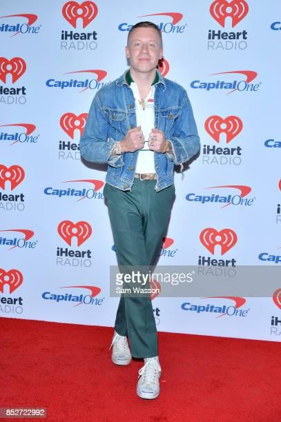 Macklemore attends the 2017 iHeartRadio Music Festival at TMobile Arena on September 23 2017 in Las Vegas Nevada