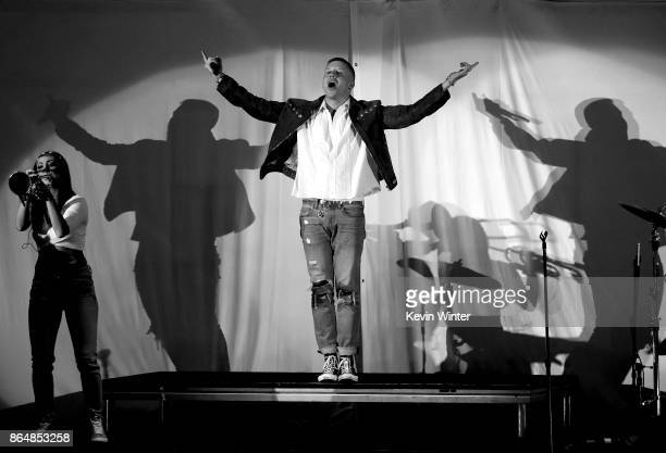 Macklemore performs onstage at CBS RADIO's We Can Survive 2017 at The Hollywood Bowl on October 21 2017 in Los Angeles California