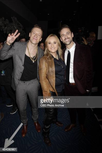 Macklemore Ryan Lewis and Melissa Etheridge during the THE GRAMMY NOMINATIONS CONCERT LIVE COUNTDOWN TO MUSIC'S BIGGEST NIGHT® broadcast Friday Dec 6...