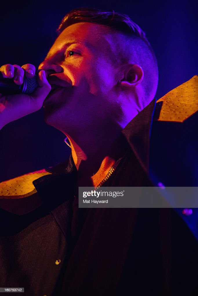 Macklemore & Ryan Lewis perform at Neptune Theatre on February 4, 2013 in Seattle, Washington.