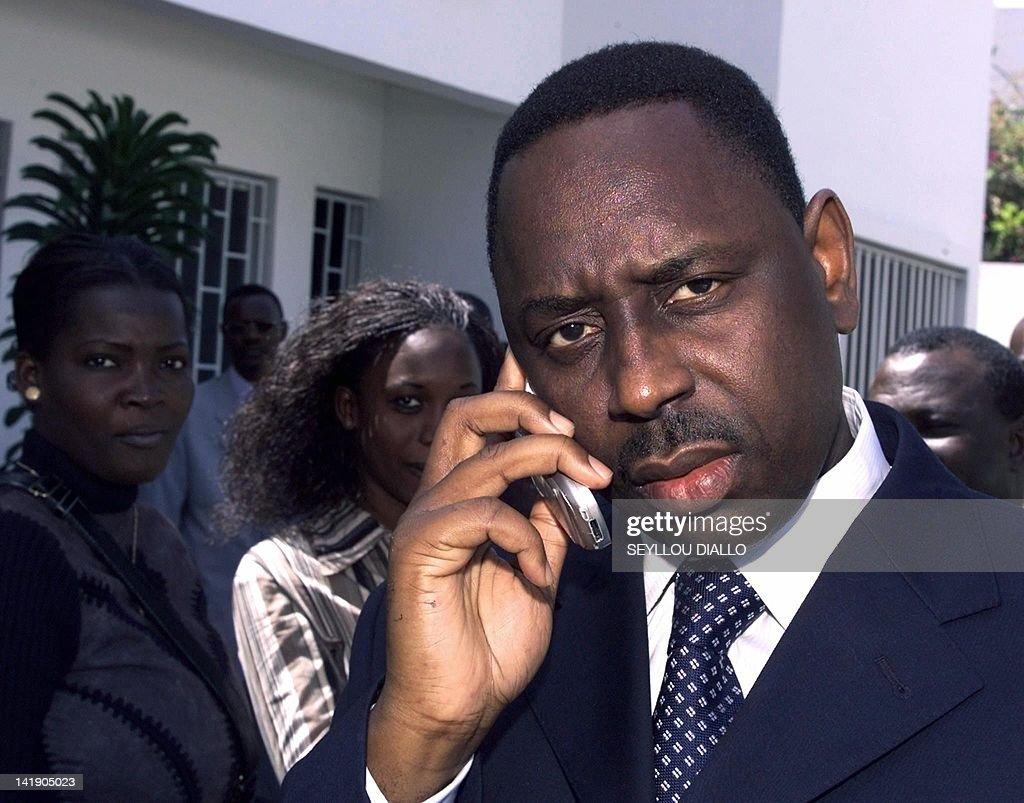 Macky Sall, 42, new Senegalese Prime Min : Nyhetsfoto
