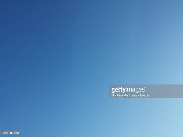 Macro Shot Of Blue Sky