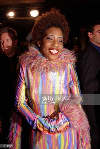Macy Gray at Crown Casino for the 2000 TV Week Logie Awards April 30 2000 in Melbourne Australia