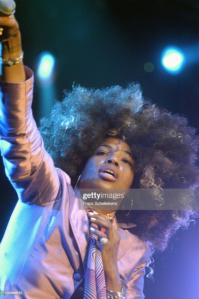 Macy Gray performs live on stage at the North Sea Jazz Festival in The Hague, Holland on July 10 2004