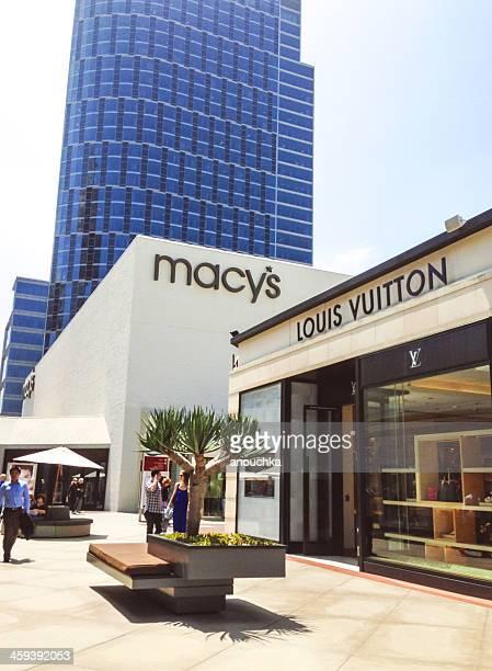 Macy's and Louis Vuitton at Westfield Century City, LA, CA