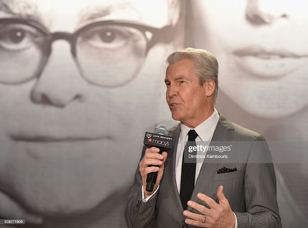Macy's CEO Terry J. Lundgren attends Love Bravery by Lady Gaga and Elton John Launch at Macy's Herald Square on May 4, 2016 in New York City.