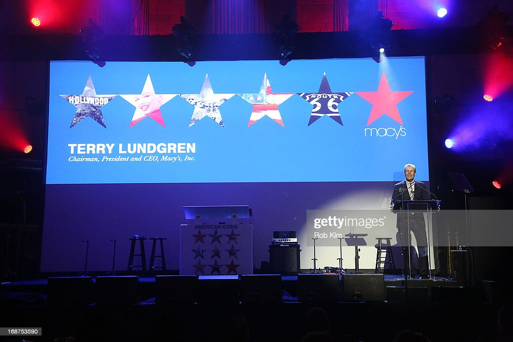 Macy's CEO Terry J. Lundgren attends Macy's launches 'American Icons' at Gotham Hall on May 14, 2013 in New York City.