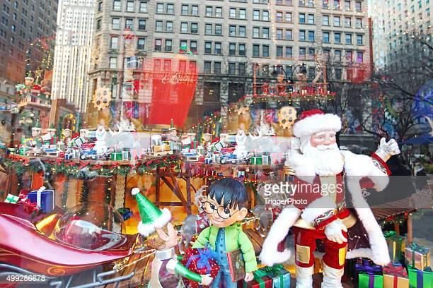 Macy's Christmas Window Display