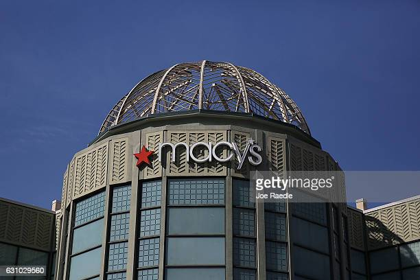 Macy's sign is seen on a Macy's store at CityPlace after reports indicate that it is one of 68 stores that the company plans on closing on January 5...