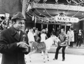 Macy's Thanksgiving Day Parade Pictured Announcer Joe Garagiola during 1970 Macy's Thanksgiving Day Parade