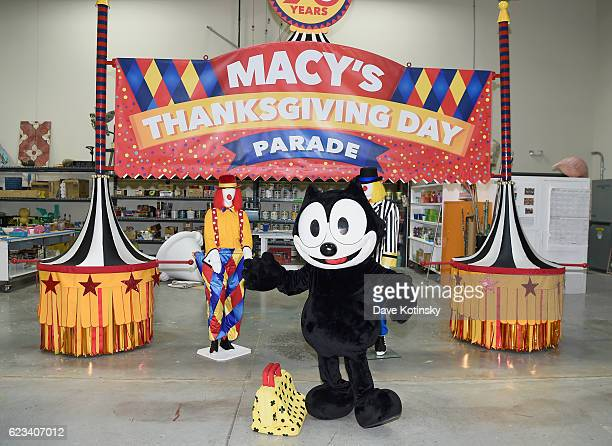 Macys unveils new floats in advance of the 90th Macys Thanksgiving Day Parade on November 15 2016 in Moonachie City