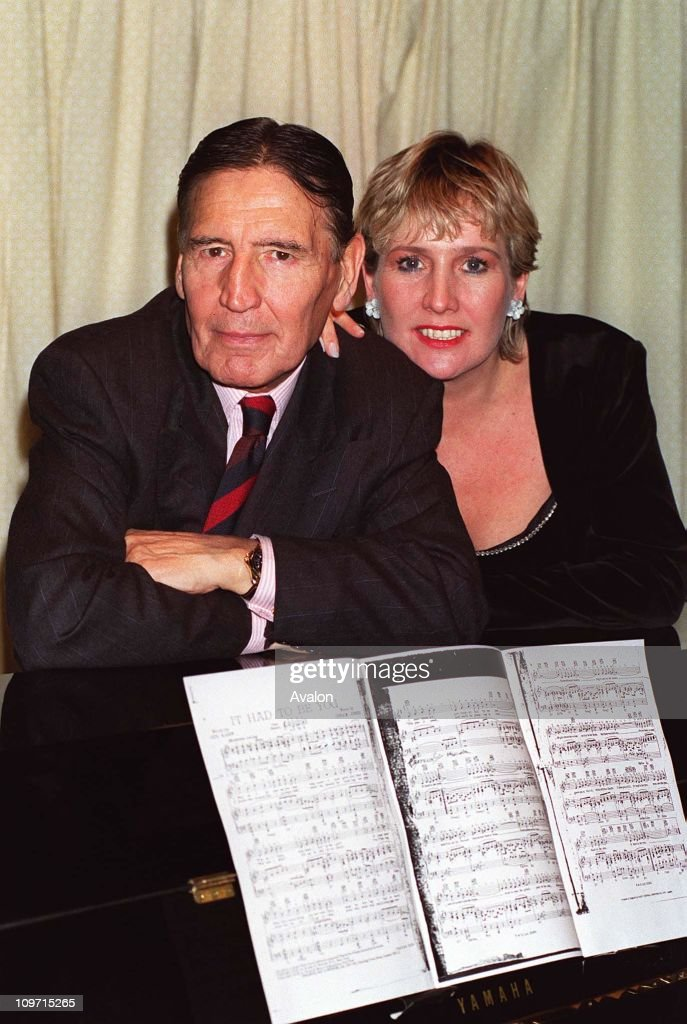 Mad' Frankie Fraser, Former British Gangster with girlfriend MARILYN WISBEYAt a press conference to launch his show 'An Evening with 'Mad' Frankie Fraser'.